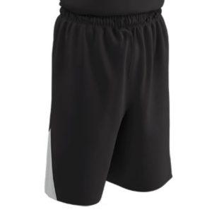 Champro Adult DRI GEAR Pro Plus Basketball Short Blk Wht MED