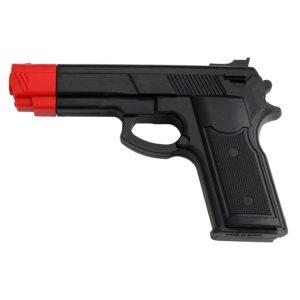 Master Rubber Training Gun Black with Orange Tip